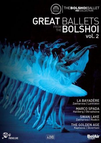 DVD, COFFRET GREAT BALLETS From the Bolshoi vol. 2