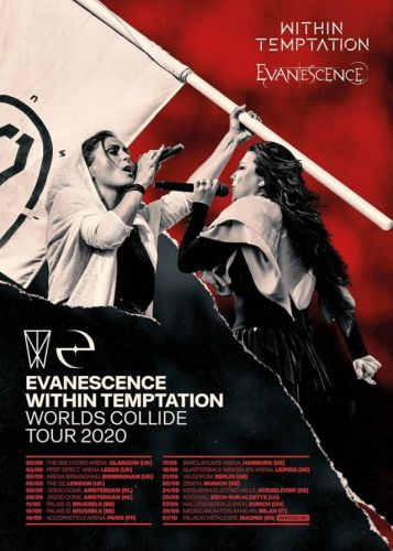 Evanescence et Within Temptation à Paris:  date décalée