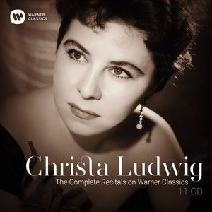CD, coffret événement. CHRISTA LUDWIG:  the complete recitals on Warner classics
