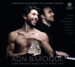 CD événement. ADN BAROQUE (Alexandre / Vincent, 1 cd Klarthe records)