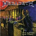 Megadeth:  The system has failed