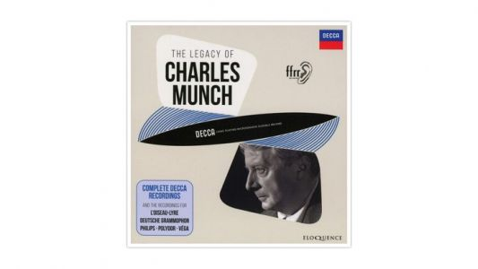 Le chef d'orchestre Charles Munch