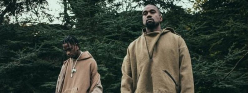 Kanye West invité sur scène par Travis Scott lors de son festival Astroworld pour interpréter Follow God