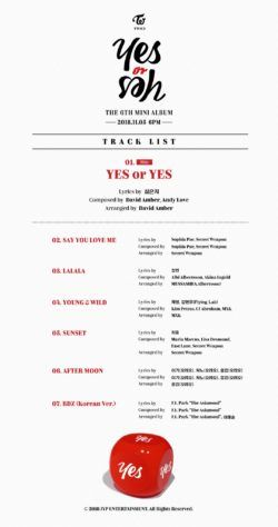 "TWICE reviendra le 5 novembre avec ""Yes or Yes"""