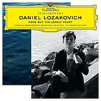 CD événement, annonce. DANIEL LOZAKOVICH, violon:  NONE BUT THE LONELY HEART