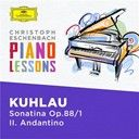 Christoph Eschenbach:  Kuhlau: Sonatina in C Major, Op. 88 No. 1: II. Andantino