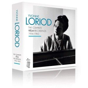 CD, coffret, critique. YVONNE LORIOD:  the complete recordings VEGA 1956 - 1963