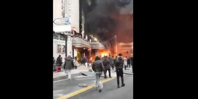 VIDEO. Incendies et rixes en marge du concert d'une star congolaise à la Gare de Lyon à Paris