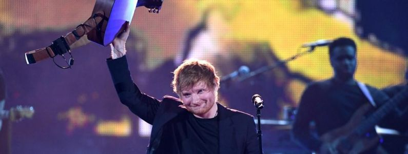 "Billboard Music Awards 2018:  Ed Sheeran fait sensation avec ""Galway Girl"""