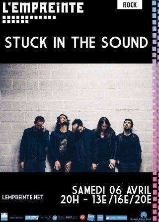 Stuck in the Sound en concert à Savigny-le-Temple avec OUI FM