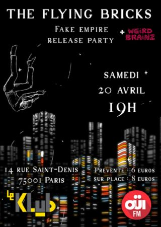 The Flying Bricks en concert au Klub avec OUI FM