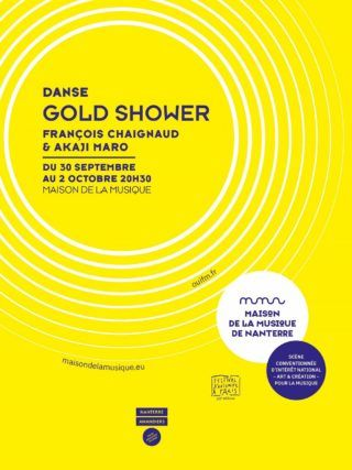 OUI FM vous invite au spectacle de danse Gold Shower à Nanterre